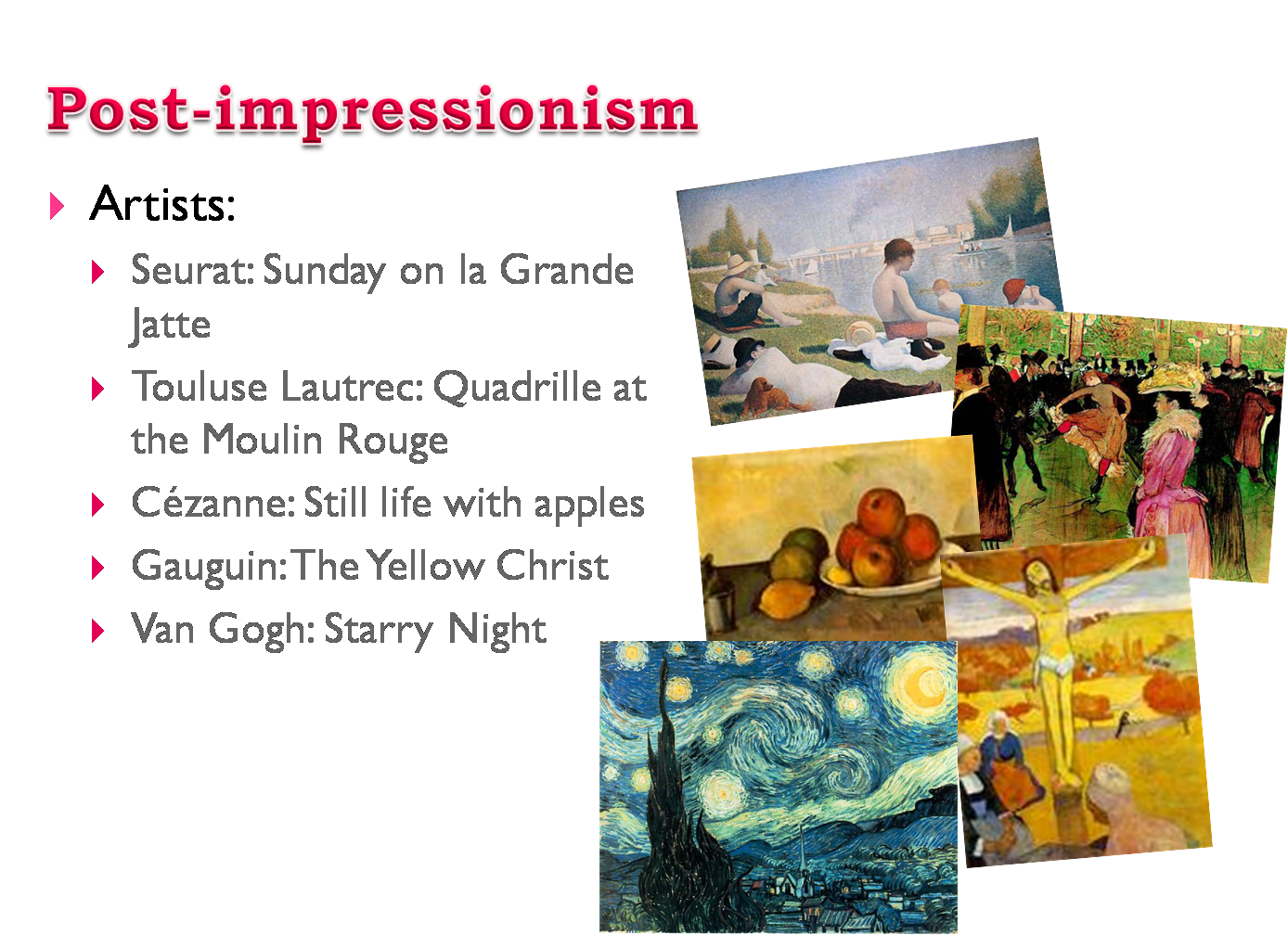 a history of impressionism in modern culture The influence of impressionism can be seen in the many works of southeast asian artists.